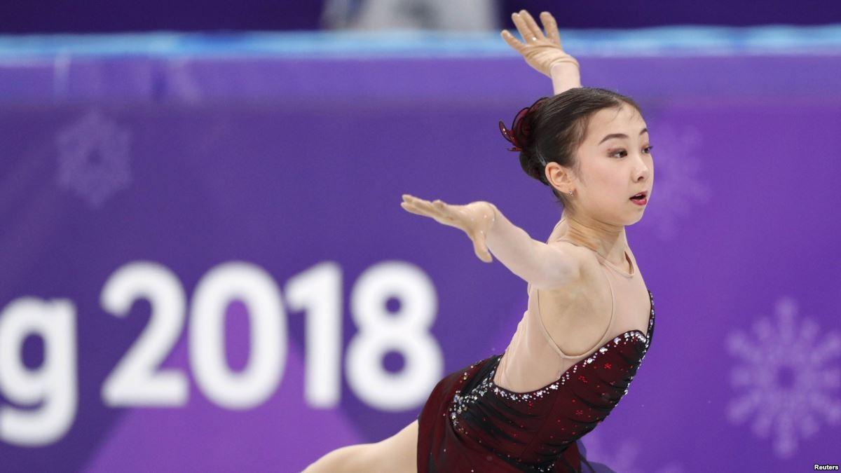 Казахстанка идёт шестой после короткой программы на Гран-при Skate Canada 2018