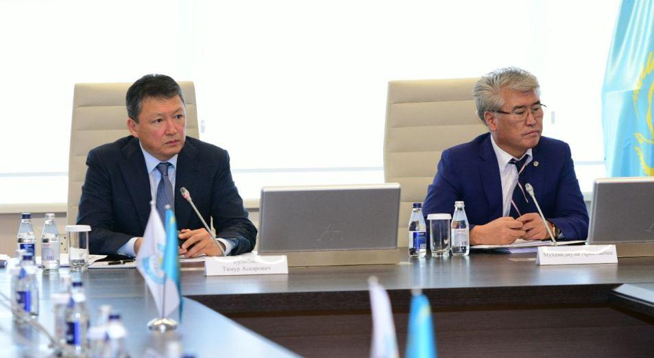 Тимур Кулибаев: «Спортсмены не имеют права применять допинг»