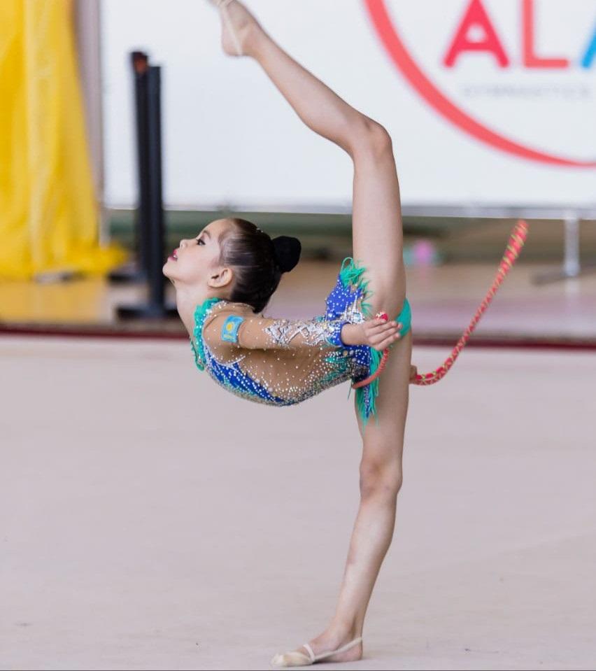 В Астану приехали лучшие гимнастки Казахстана
