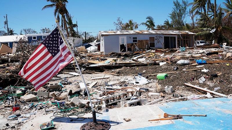 СК «Евразия» выплатила по ураганам «Харви» и «Мария» почти 9 млрд тенге
