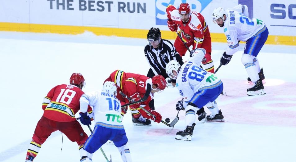 Регулярка КХЛ: «Барыс» опустился на предпоследнее место на «Востоке»
