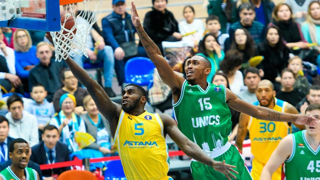 Столичный баскетбольный клуб уступил казанскому УНИКСу в домашнем матче Единой лиги ВТБ