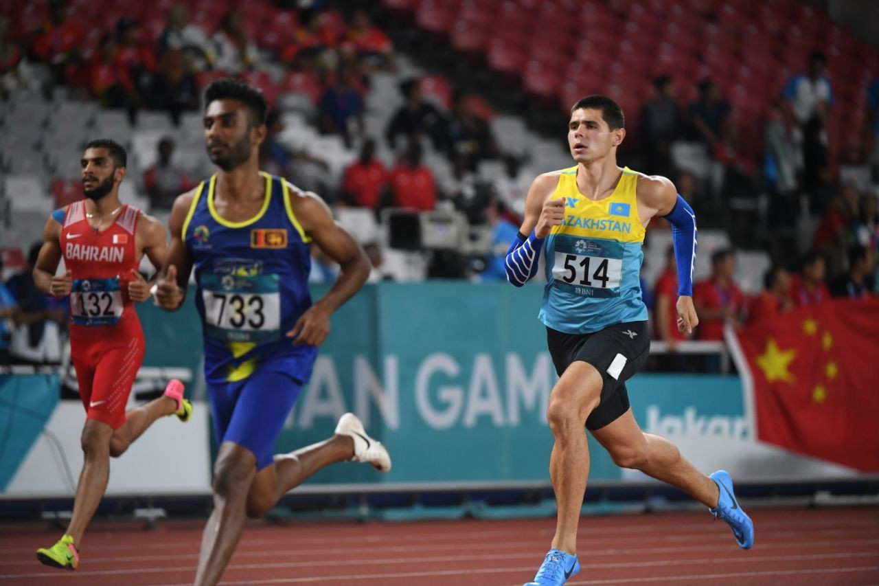 Легкоатлет установил новый рекорд Казахстана
