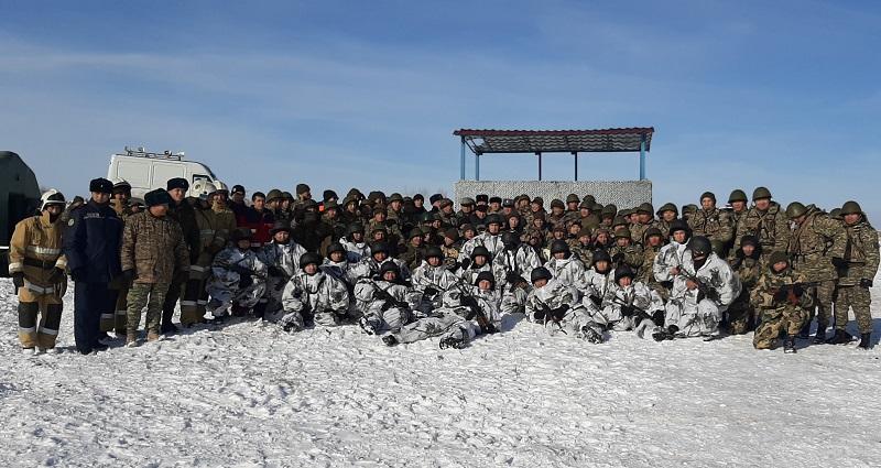 Военнообязанные Нур-Султана приняли участие в учениях территориальной обороны городского акимата