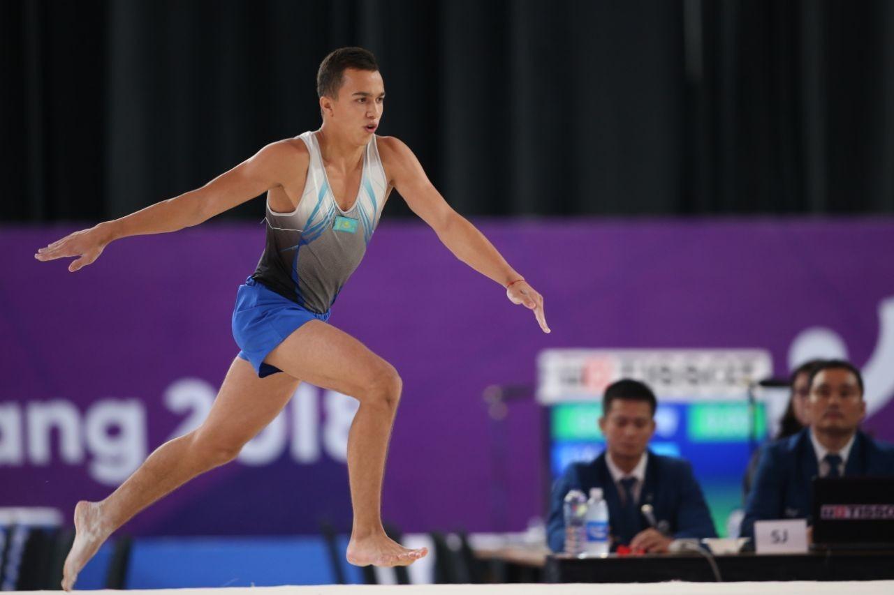 Кубок мира по спортивной гимнастике: казахстанец вошёл в топ-5