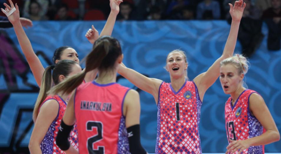 «Алтай» одержал первую победу на клубном ЧМ по женскому волейболу