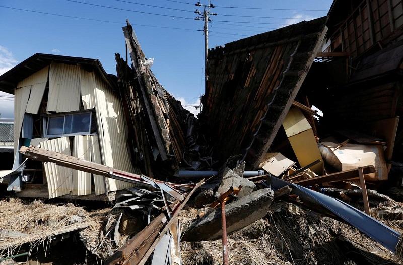 Число жертв тайфуна Хагибис в Японии возросло до 77 человек