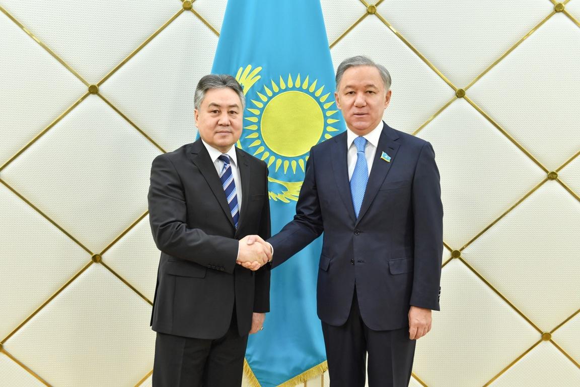 Нұрлан Нығматулин қырғыз әріптестерін Астанада өтетін шараға шақырды