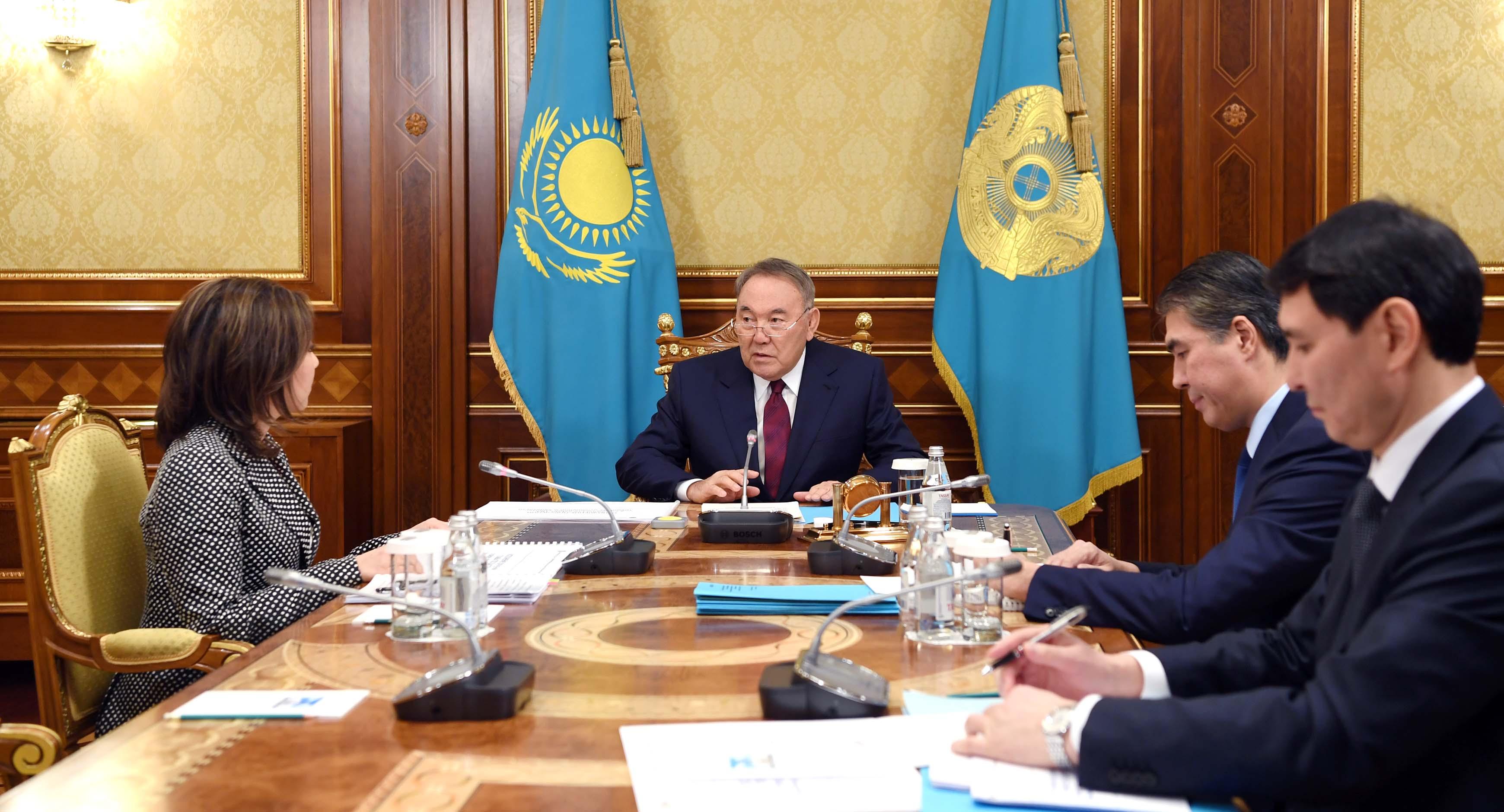 Президент РК провёл совещание по вопросам модернизации системы социальной защиты населения