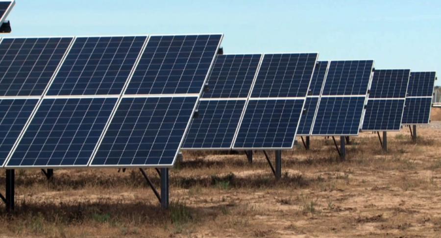В Туркестанской области строят солнечную электростанцию