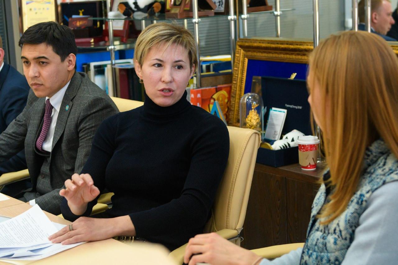 Комиссия спортсменов является связующим звеном между атлетами и НОКом – Серик Сапиев