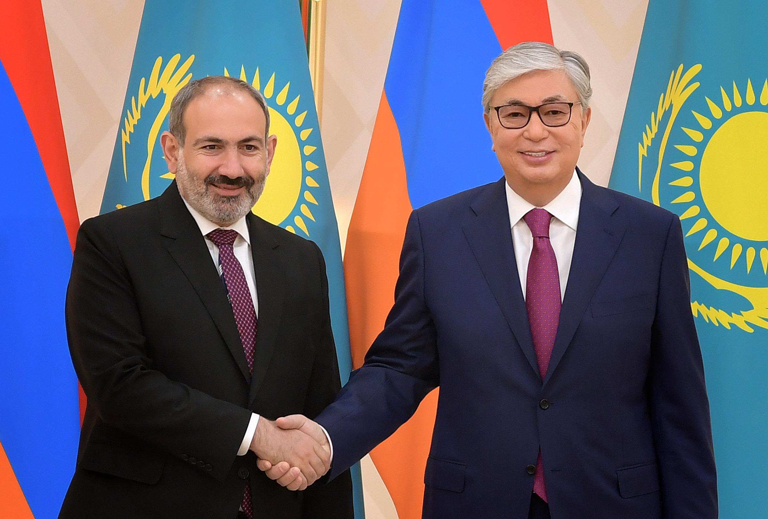 Казахстан и Армения намерены укреплять экономические отношения