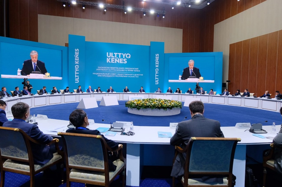 ҚР Президенті жанындағы Ұлттық қоғамдық сенім кеңесінің алғашқы отырысы басталды
