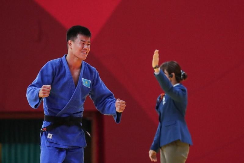 Казахстанец завоевал бронзу на международном турнире по дзюдо Grand Slam в Абу-Даби