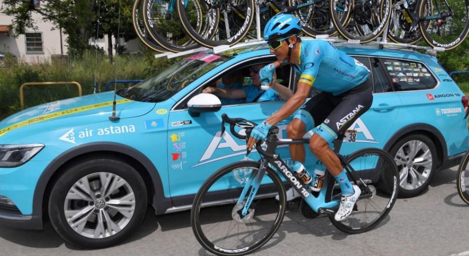 «Джиро д'Италия»: Бильбао сохранил позиции для рывка