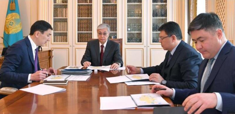 Президент Казахстана поручил главе минэкологии провести тщательный анализ водной безопасности страны