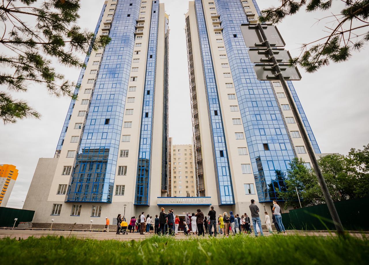 В Нур-Султане завершено строительство восьмилетнего долгостроя