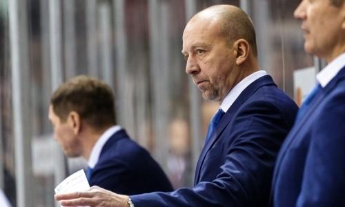 Наставник «Барыса» приблизился к топ-5 рейтинга тренеров КХЛ