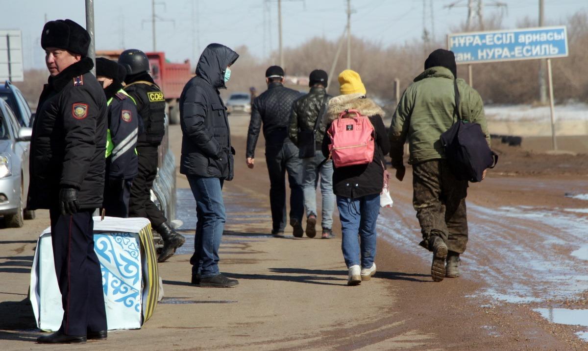 Нұр-Сұлтан мен Алматының шекарасын заңсыз кесіп өтпек болған 32 адам тұтқындалды