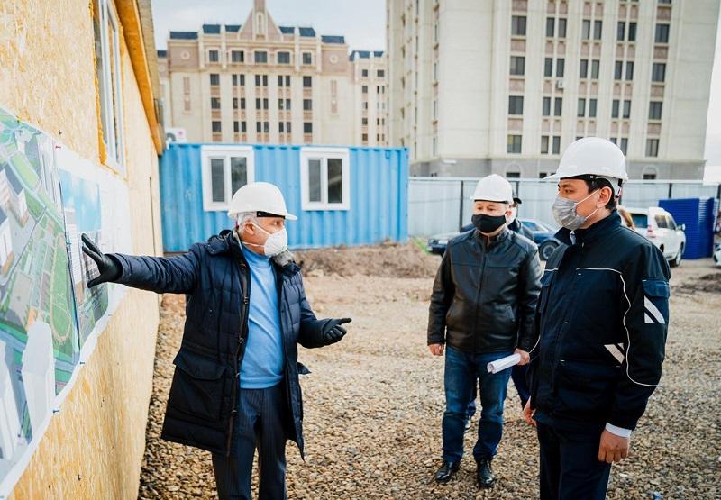 В Нур-Султане строят школу инвесторы из Бахрейна
