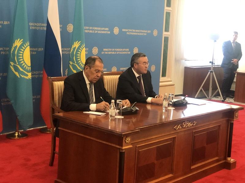 Сергей Лавров заявил об эффективности астанинского процесса