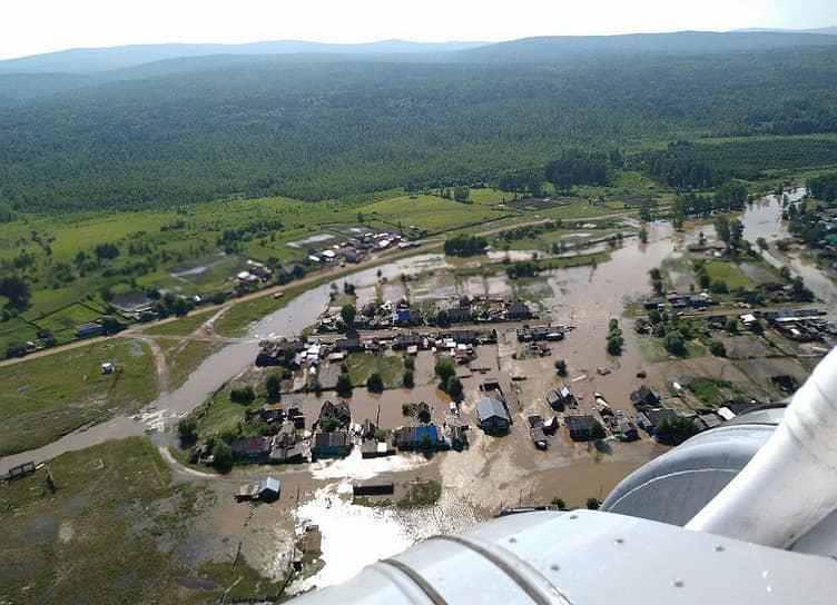 В Иркутской области госпитализировали из-за паводка более 700 человек