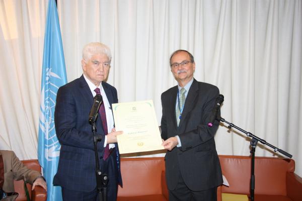 Қазақстан ғалымына ЮНЕСКО-ның медалі табысталды