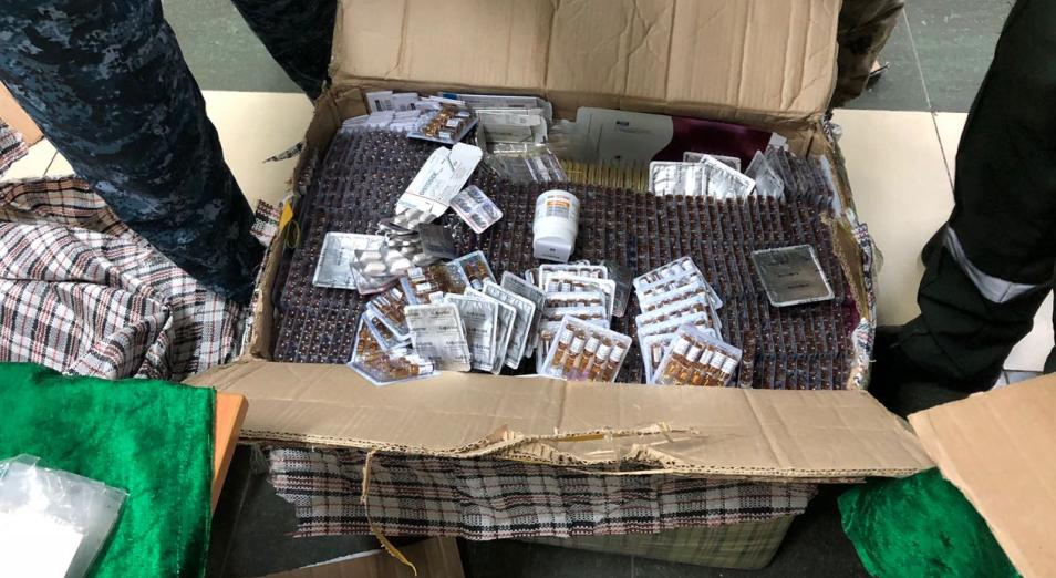 В Казахстан незаконно пытались ввезти китайские лекарства