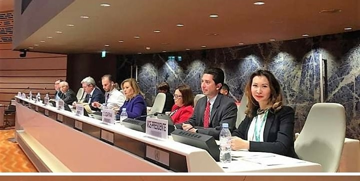 Казахстан избран вице-председателем ISAR