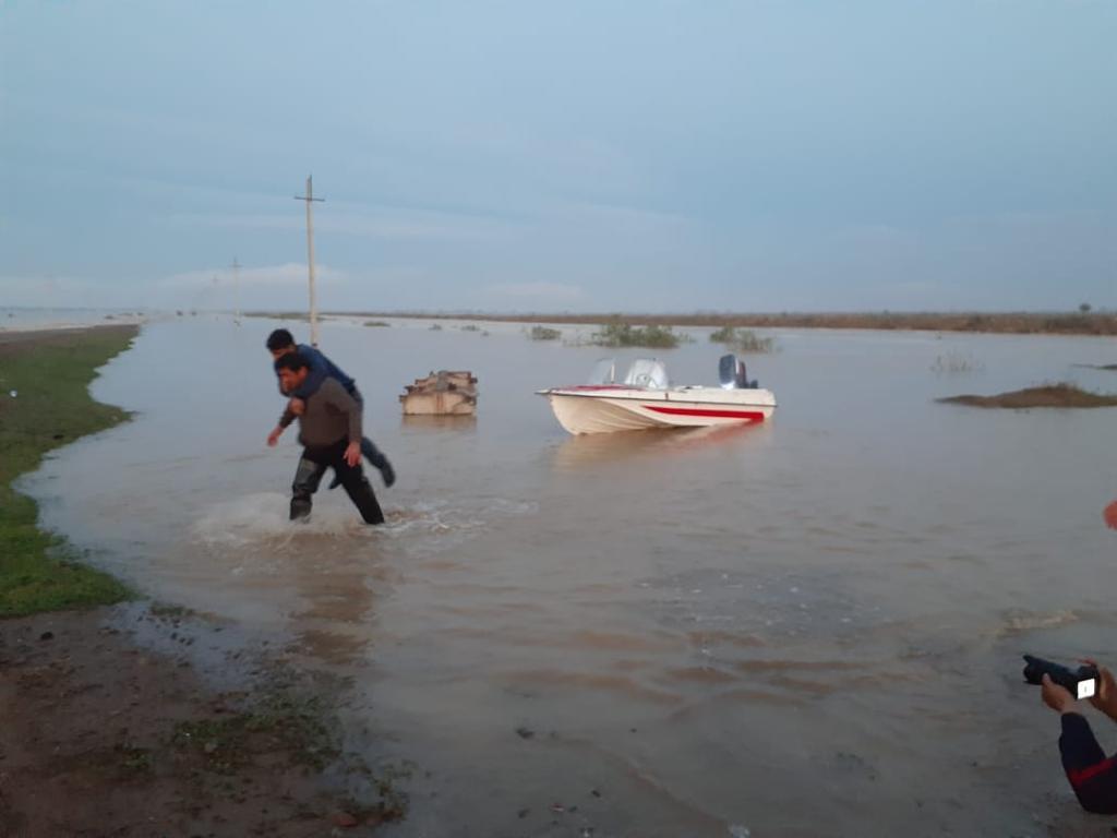 В Мактааральском районе Туркестанской области остаются в воде 452 дома