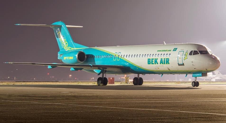 """Стало известно, из-за чего самолёт авиакомпании """"Бек Эйр"""" вернулся в аэропорт Астаны"""