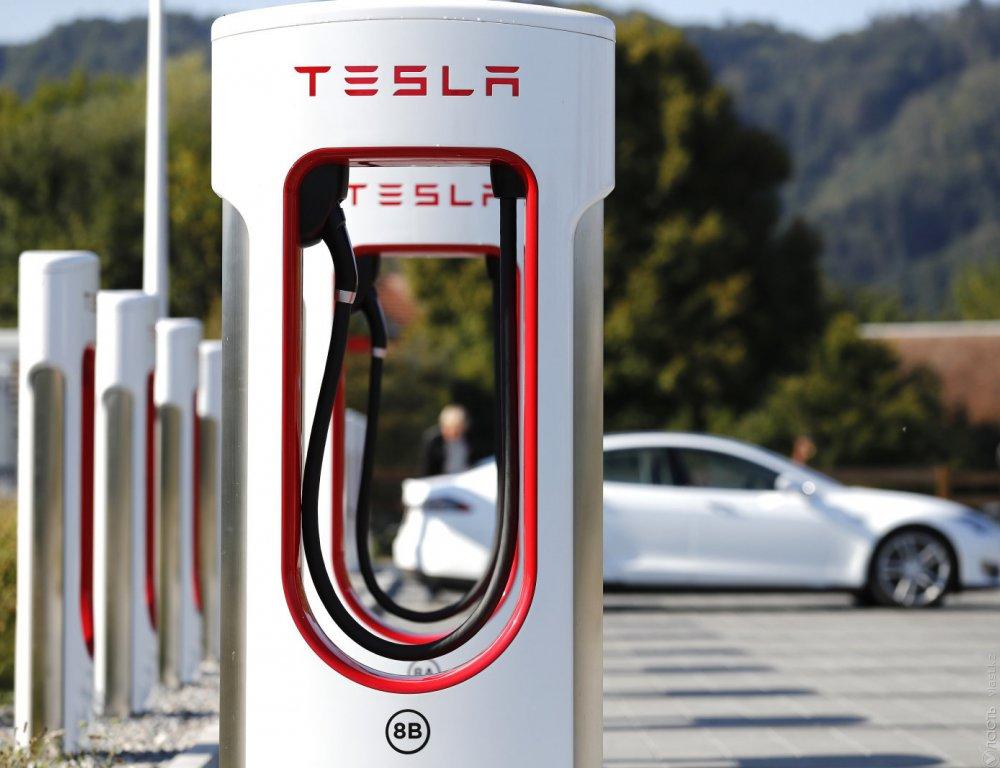В Казахстане компания Tesla  планирует строить зарядные станции