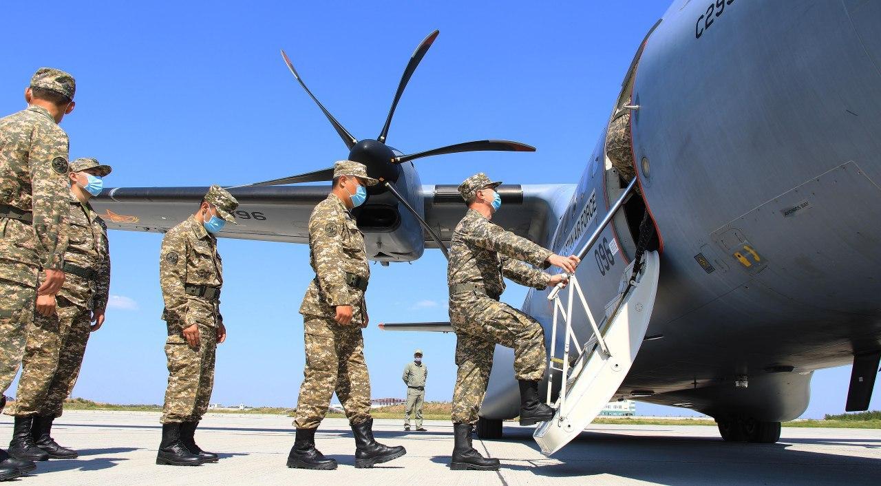 Қазақстандық әскери дәрігерлер Бейрутқа ұшып кетті