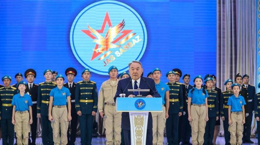 """Президент РК: """"Быть патриотом – долг всех казахстанцев"""""""