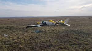 Начато досудебное расследование по факту крушения легкомоторного самолета в Караганде