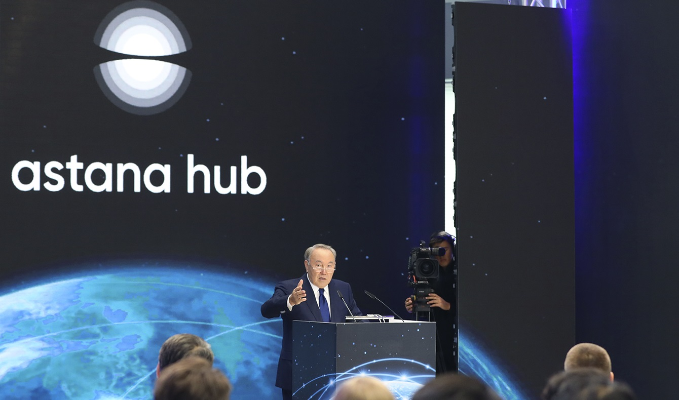 Президент РК запустил Международный технопарк IT-стартапов в Астане