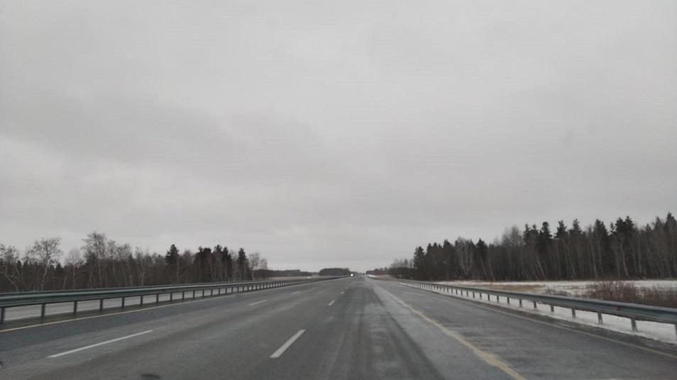 На трассе Нур-Султан – Щучинск ограничено движение