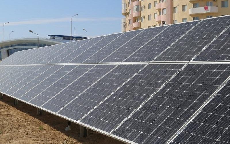 Солнечную электростанцию запустили в актауской школе
