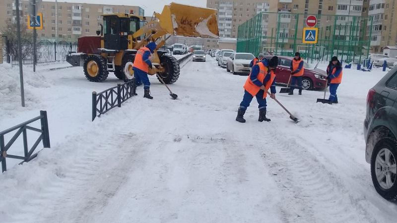 В Нур-Султане за несвоевременную уборку снега оштрафовали почти полсотни КСК
