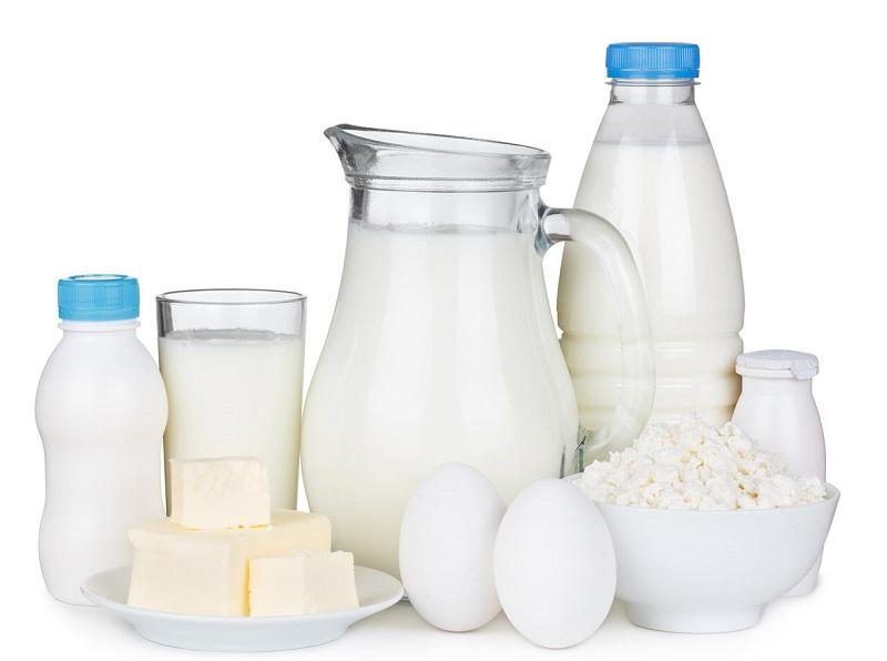 Производство молока и сливок в РК выросло на 1% за год