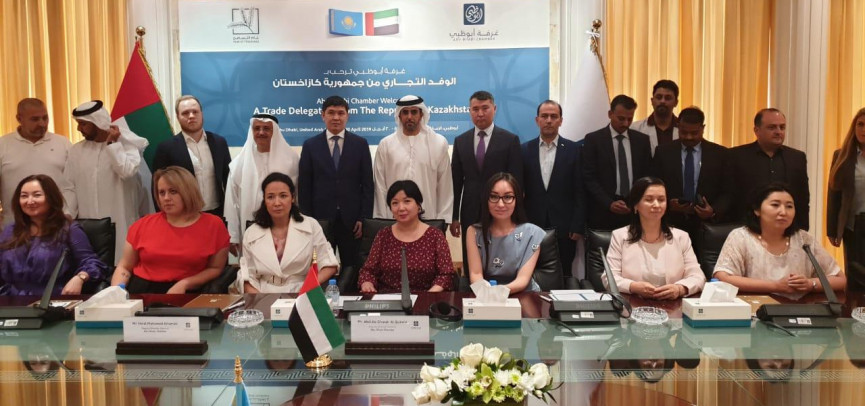 Казахстанские бизнесмены представили свою продукцию в ОАЭ
