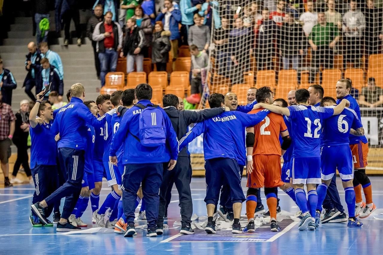 Команда Казахстана по футзалу узнает своих соперников по отбору на ЕВРО в сентябре