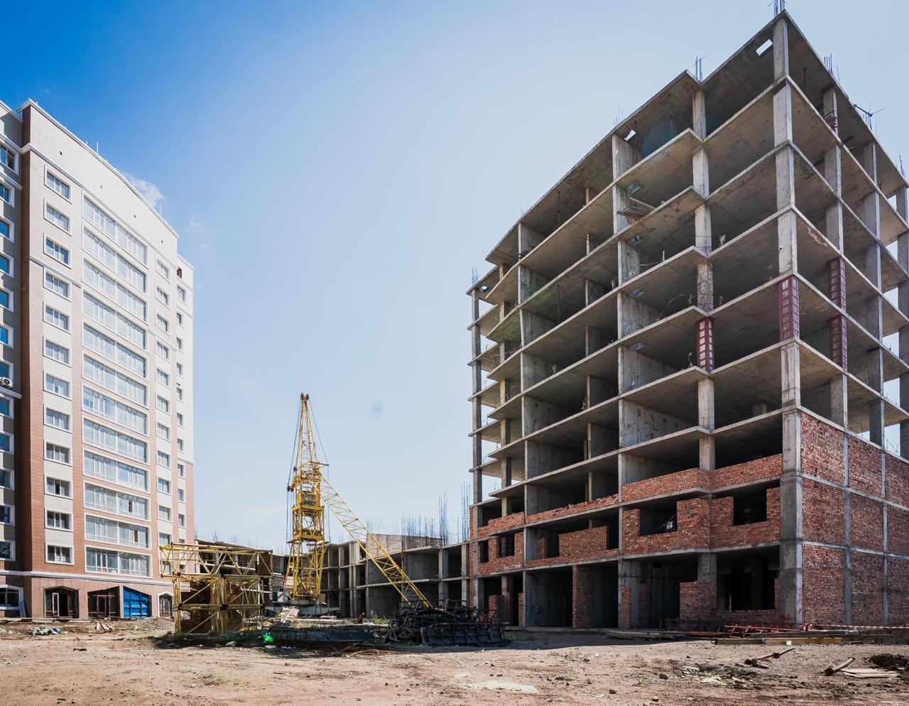 Елордада құрылысы ұзаққа созылған 500 мың шаршы метр үй салынады