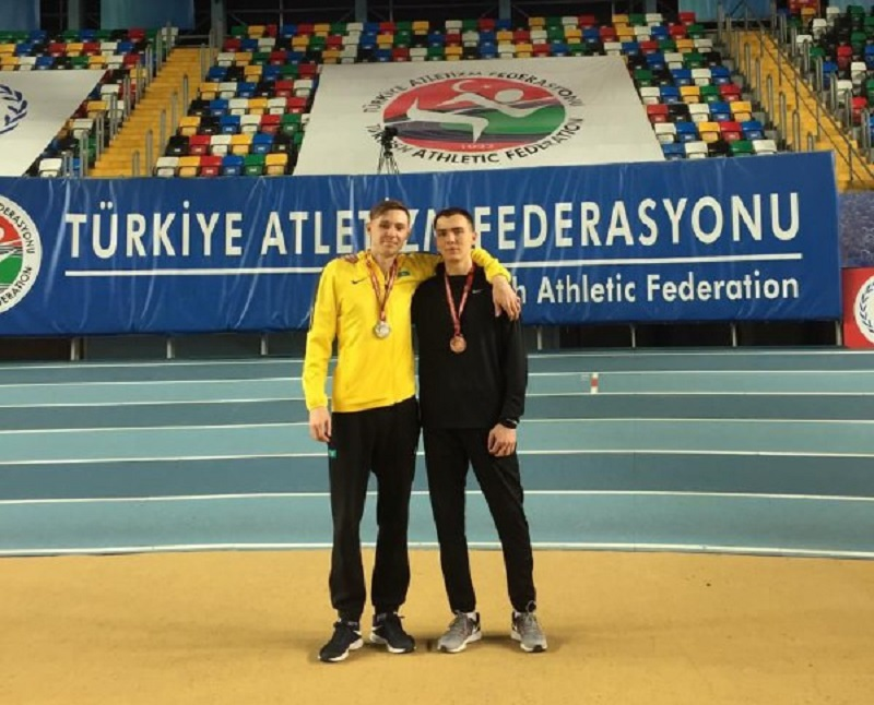 Казахстанцы завоевали две медали на турнире по легкой атлетике в Турции