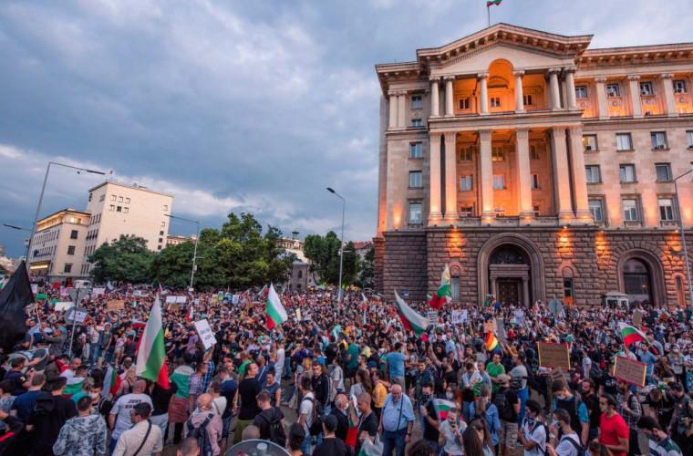 Антиправительственные протесты проходят в городах Болгарии