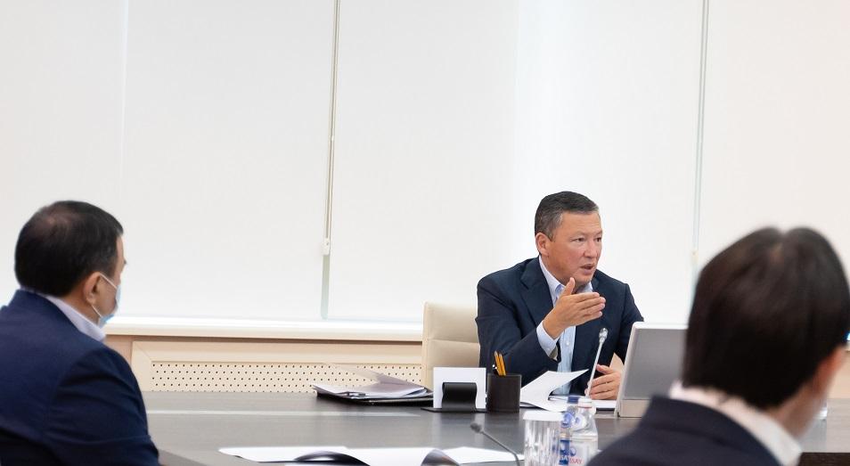 Какие вопросы предприниматели озвучили Тимуру Кулибаеву?