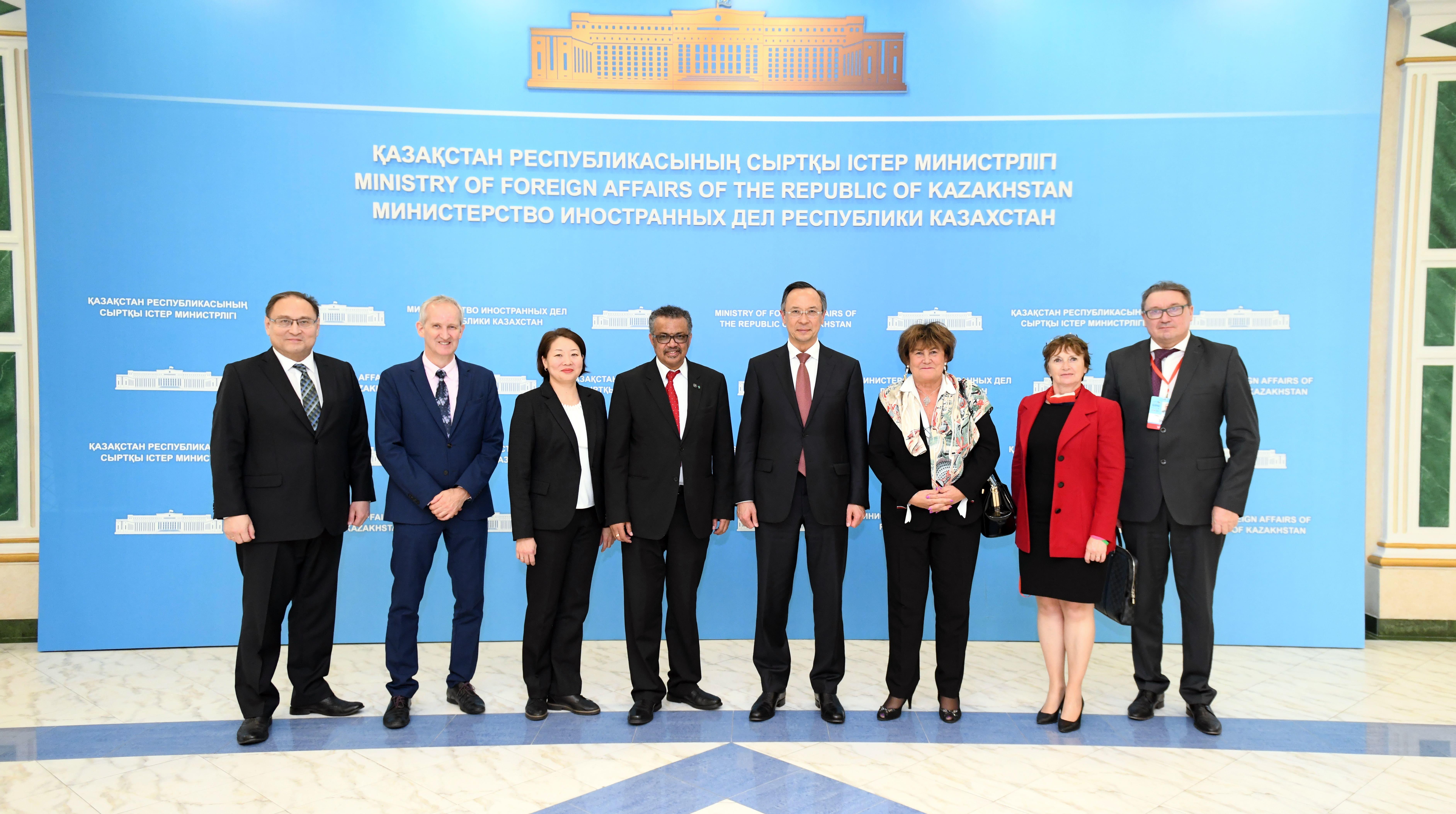 Астанинская декларация ВОЗ может послужить основой для резолюции Всемирной ассамблеи здравоохранения в Женеве