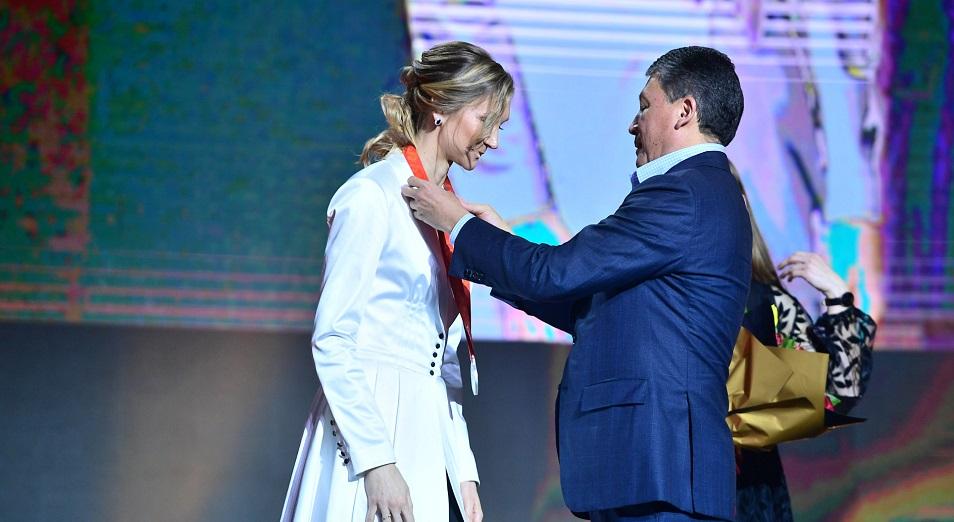 В Нур-Султане вручили две олимпийские награды Пекин-2008