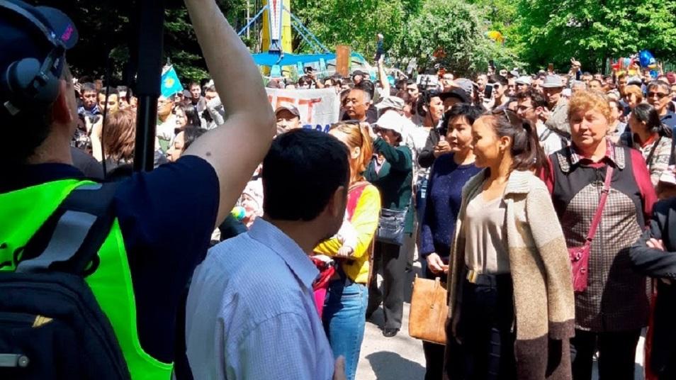 Алматылықтар қала билігінің жаңа шешіміне қарсы шықты