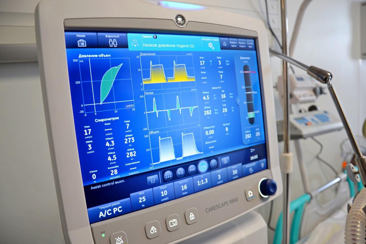 В Алматы ожидается поставка дополнительно 70 аппаратов ИВЛ